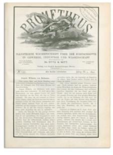 Prometheus : Illustrirte Wochenschrift über die Fortschritte in Gewerbe, Industrie und Wissenschaft. 3. Jahrgang, 1892, Nr 137