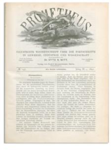 Prometheus : Illustrirte Wochenschrift über die Fortschritte in Gewerbe, Industrie und Wissenschaft. 3. Jahrgang, 1892, Nr 147
