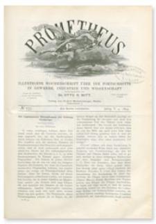 Prometheus : Illustrirte Wochenschrift über die Fortschritte in Gewerbe, Industrie und Wissenschaft. 5. Jahrgang, 1894, Nr 237