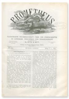 Prometheus : Illustrirte Wochenschrift über die Fortschritte in Gewerbe, Industrie und Wissenschaft. 5. Jahrgang, 1894, Nr 239