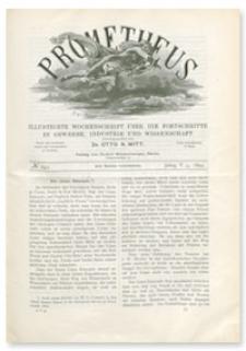Prometheus : Illustrirte Wochenschrift über die Fortschritte in Gewerbe, Industrie und Wissenschaft. 5. Jahrgang, 1894, Nr 241