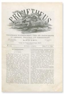Prometheus : Illustrirte Wochenschrift über die Fortschritte in Gewerbe, Industrie und Wissenschaft. 5. Jahrgang, 1894, Nr 244
