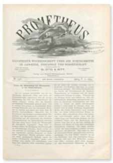 Prometheus : Illustrirte Wochenschrift über die Fortschritte in Gewerbe, Industrie und Wissenschaft. 5. Jahrgang, 1894, Nr 246