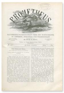 Prometheus : Illustrirte Wochenschrift über die Fortschritte in Gewerbe, Industrie und Wissenschaft. 5. Jahrgang, 1894, Nr 248