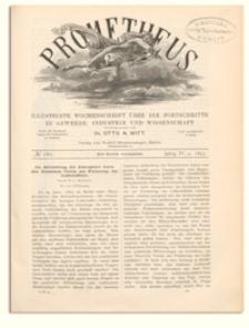 Prometheus : Illustrirte Wochenschrift über die Fortschritte in Gewerbe, Industrie und Wissenschaft. 4. Jahrgang, 1893, Nr 180