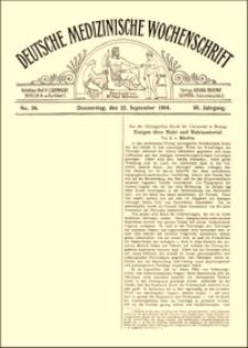 Einiges über Naht und Nahtmaterial, Deutsche Medizinische Wochenschrift, 1904, Jg. 30, No. 39, S. 1415-1417