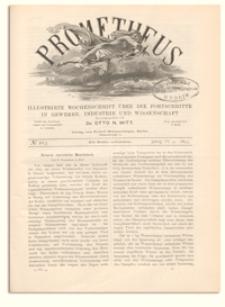 Prometheus : Illustrirte Wochenschrift über die Fortschritte in Gewerbe, Industrie und Wissenschaft. 4. Jahrgang, 1893, Nr 203
