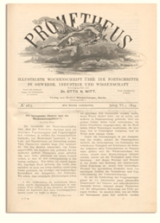 Prometheus : Illustrirte Wochenschrift über die Fortschritte in Gewerbe, Industrie und Wissenschaft. 6. Jahrgang, 1894, Nr 263
